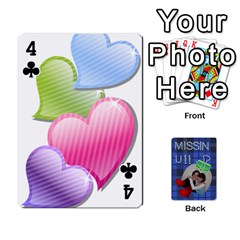 Tzip Cards By Esti Kaufman   Playing Cards 54 Designs   Qovyzxgs84og   Www Artscow Com Front - Club4