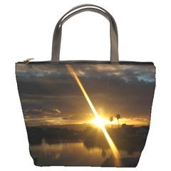 Rainbows And Sunsets 031 Bucket Handbag