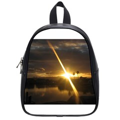 Rainbows And Sunsets 031 Small School Backpack by tammystotesandtreasures