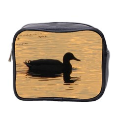 Lone Duck Twin Sided Cosmetic Case