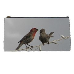 Chit Chat Birds Pencil Case by tammystotesandtreasures