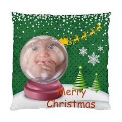 Merry Christmas By Joely   Standard Cushion Case (two Sides)   Ap2ubrjs04h4   Www Artscow Com Front