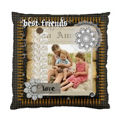 Best Friends By Joely   Standard Cushion Case (two Sides)   I59yqku8375n   Www Artscow Com Back
