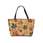 faded autumn leaves shoulder bag - Classic Shoulder Handbag