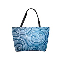 Turquoise Squiral Shoulder Bag By Bags n Brellas   Classic Shoulder Handbag   Qth2pplv1p50   Www Artscow Com Back