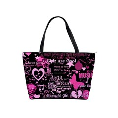 pinkpunk shoulder bag by Bags n Brellas Front