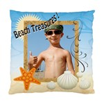beach treasures - Cushion Case (Two Sides)