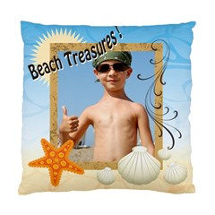 Beach Treasures By Joely   Standard Cushion Case (two Sides)   Jiub68etowug   Www Artscow Com Back