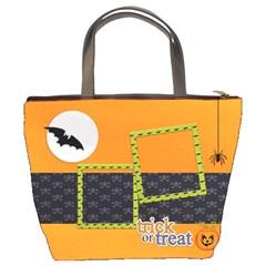 Bucket Bag : Halloween1 By Jennyl   Bucket Bag   Gxvp0astvugy   Www Artscow Com Back