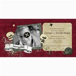Pirate Birthday Party-4x8 Photo Cards - 4  x 8  Photo Cards