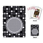 black - Playing Cards Single Design