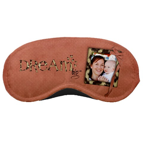 Dream Big  Sleeping Mask By Mikki   Sleeping Mask   02nnlsqe6g6x   Www Artscow Com Front
