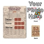 Bibliogamo - Playing Cards 54 Designs
