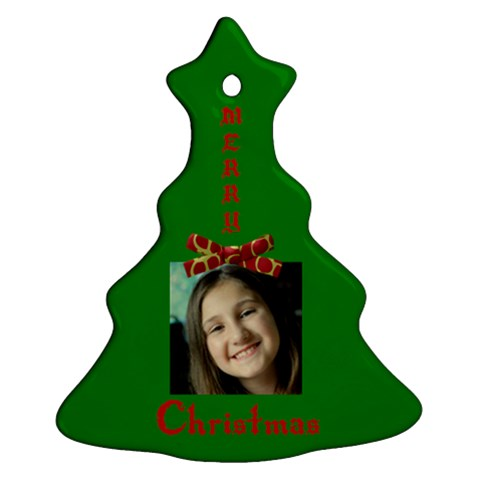 Jennie And Will By Jessica    Ornament (christmas Tree)    8m6skkhd163a   Www Artscow Com Front