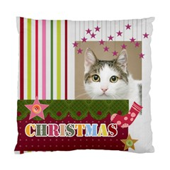 Christmas By Joely   Standard Cushion Case (two Sides)   W5rhq7cyy6k3   Www Artscow Com Front