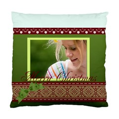Christmas By Joely   Standard Cushion Case (two Sides)   3r0zqly27j2p   Www Artscow Com Front