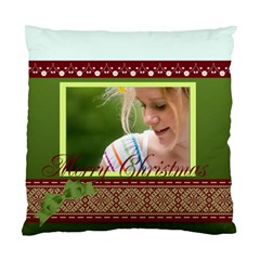 Christmas By Joely   Standard Cushion Case (two Sides)   3r0zqly27j2p   Www Artscow Com Back