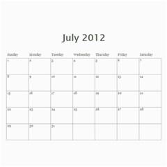 Seminary Calendar By Mike Anderson   Wall Calendar 11  X 8 5  (12 Months)   8yxwft8k1b9e   Www Artscow Com Jul 2012