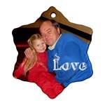 Grandpa R/Kenzie ornament - Ornament (Snowflake)