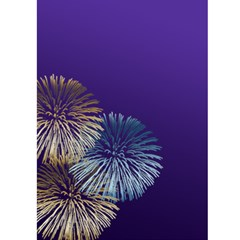 New Year Greeting 5x7 Card (purple) By Deborah   Greeting Card 5  X 7    Lb3w6vvrplbo   Www Artscow Com Front Inside