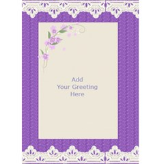 General Purpose Greeting Card (5x7) 1 By Deborah   Greeting Card 5  X 7    Jctsm5s4lkgo   Www Artscow Com Back Inside