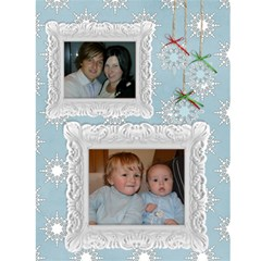 Christmas Card By Rebecca Christie   Greeting Card 4 5  X 6    F6ev7de74hf5   Www Artscow Com Front Inside