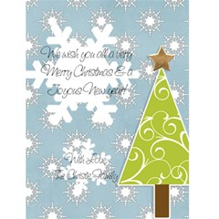 Christmas Card By Rebecca Christie   Greeting Card 4 5  X 6    F6ev7de74hf5   Www Artscow Com Back Inside