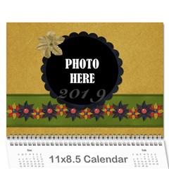 2019 Calendar 1 By Lisa Minor   Wall Calendar 11  X 8 5  (12 Months)   H3p19t3fk4rq   Www Artscow Com Cover