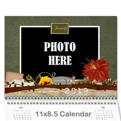 2019 Calendar Mix 2 By Lisa Minor   Wall Calendar 11  X 8 5  (12 Months)   Jnpfqugzhfe9   Www Artscow Com Cover
