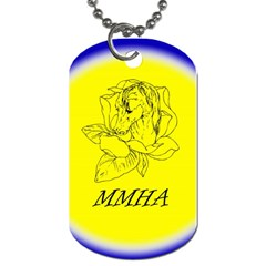 Mmha Tag2 By Cherees   Dog Tag (two Sides)   Pc9br0893w62   Www Artscow Com Front