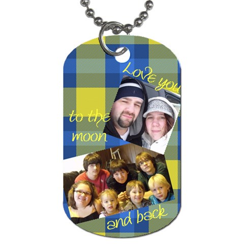 Cjs By Vicki   Dog Tag (one Side)   1dds8yhpxznv   Www Artscow Com Front