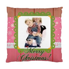 Merry Christmas 1 By Joely   Standard Cushion Case (two Sides)   Y7omeasimdy3   Www Artscow Com Front