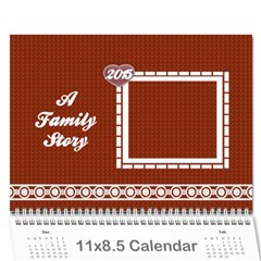 A Family Story Calendar 18m 2013 by Daniela Cover