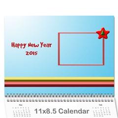 Happy New Year 2013 Calendar 12m By Daniela   Wall Calendar 11  X 8 5  (12 Months)   T9dhsxqgpi1r   Www Artscow Com Cover