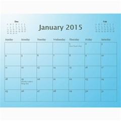 Happy New Year 2013 Calendar 12m By Daniela   Wall Calendar 11  X 8 5  (12 Months)   T9dhsxqgpi1r   Www Artscow Com Jan 2015