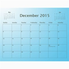 Happy New Year 2013 Calendar 12m By Daniela   Wall Calendar 11  X 8 5  (12 Months)   T9dhsxqgpi1r   Www Artscow Com Dec 2015