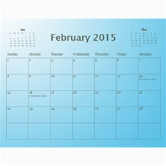 Happy New Year 2013 Calendar 12m By Daniela   Wall Calendar 11  X 8 5  (12 Months)   T9dhsxqgpi1r   Www Artscow Com Feb 2015
