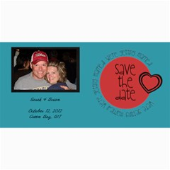 Save The Date Photocard By Lana Laflen   4  X 8  Photo Cards   9aj66fglimb5   Www Artscow Com 8 x4 Photo Card - 9
