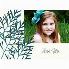 5x7 Thank You Card By Lana Laflen   5  X 7  Photo Cards   Rdwqfhf5x4lw   Www Artscow Com 7 x5 Photo Card - 1