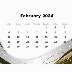 Silver Flash 2018  Calendar  Large Numbers By Deborah   Wall Calendar 11  X 8 5  (12 Months)   3cnb5vkwsv8b   Www Artscow Com Feb 2018
