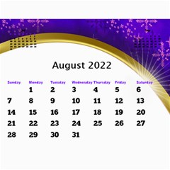 2018 Calendar With Class And Large Numbers By Deborah   Wall Calendar 11  X 8 5  (12 Months)   Jhfnl9v3sdij   Www Artscow Com Aug 2018