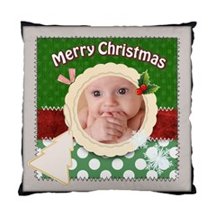 Merry Christmas By Joely   Standard Cushion Case (two Sides)   Xn3uxq3nda8t   Www Artscow Com Back