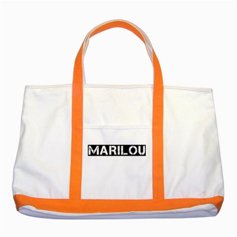 Marilou By Choo Su Yin   Two Tone Tote Bag   E4wuycdsegf6   Www Artscow Com Front
