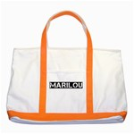 MARILOU - Two Tone Tote Bag