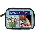 Daddy Loves Me Digital Leather Camera Case - Digital Camera Leather Case