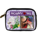 Mommy Loves Me Digital Leather Camera Case - Digital Camera Leather Case