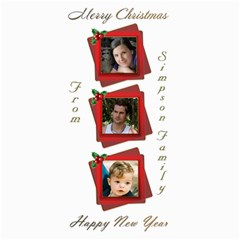 Christmas New Year 4x8 Photo Card By Deborah   4  X 8  Photo Cards   95ictathn74n   Www Artscow Com 8 x4 Photo Card - 5