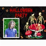 halloween invitaion 7 - 5  x 7  Photo Cards