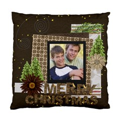 Merry Christmas By Joely   Standard Cushion Case (two Sides)   T2gy7wvribj6   Www Artscow Com Back