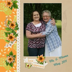 Family Mothers Day 2011 By Gayla Holmes Hardaway   Scrapbook Page 12  X 12    6leeyrtptj1l   Www Artscow Com 12 x12 Scrapbook Page - 4